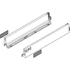 Blum 378M4502SA TANDEMBOX Drawer Side Height M (83mm) Nominal Length 450mm Left & Right for TANDEMBOX Intivo/Antaro