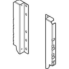 Blum Z30D000SL TANDEMBOX Back Fixings Bracket Height D (224mm) Left & Right - Grey