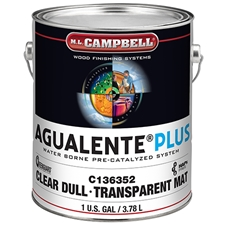 M.L. Campbell C136352 Agualente Plus Clear Dull Finish - 1 Gallon