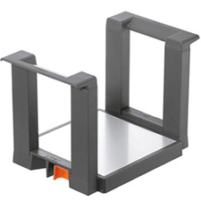 Blum ZC7T0350 Orga-Line Plate Holder - Height 170mm - for Plates with Diameter 186-322mm - Orion Grey MattBlum ZC7T0350 Range-assiettes Orga-Line - pour Applications avec Tandembox ou Légrabox