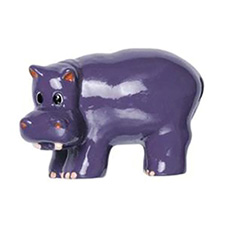 Amerock BP9354-HP Kid'Z Collection Hippo Knob - Hand Painted - Hippo