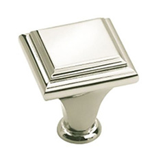 Amerock BP26131-PN Manor Collection Square Knob - 1
