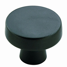 Amerock BP55270-BBR Blackrock Collection Standard Round Knob - Black Bronze