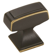 Amerock BP53029VB Mulholland Collection Rectangle T-Knob - 1 1/4