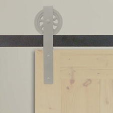 FR-BK-08-A FLAT RAIL BLACK 8FT