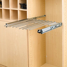 Rev A Shelf PSC-24CR Pant Organizer with Movable Fingers for Closet - 13 Pant Capacity - 24