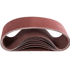 Wurth 0675050610961 Ruby Portable Belt - 50 Grit - 4x24 - Box of 10