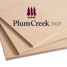 Plum Creek MDF 11/16