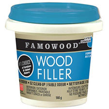 Famowood Latex Wood Filler - Walnut - 1/4 Pint (118mL)