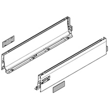 Blum 358/378L4002SA2Z TANDEMBOX drawer side - height L (101 mm) - NL=400mm - right + left for TANDEMBOX Intivo