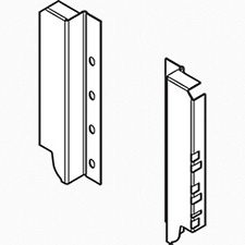 Blum TANDEMBOX Z30C000S Back Fixings Bracket - Height C (192 mm) - Right + Left