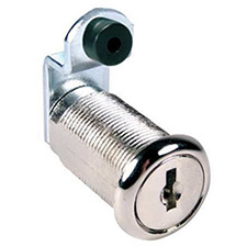 Comp X C8053-KD-14A Disc Cam Lock - Keyed Different - 1 3/16 - Chrome