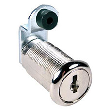 CompX C8053-MKKD-14A Disc Cam Lock - Master Keyed - 1 3/16 - Chrome