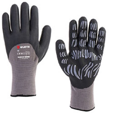 Wurth 0899404030804 Tigerflex Thermo Gloves - 1 pair - Size 10