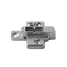 Blum 175H7130 Cruciform Mounting Plate - Spacing: 3mm - Height: 11.5 +/- 2mm - Screw-inBlum 175H7130 Plaque de Fixation Cruciforme - Écartement: 3mm - Hauteur: 11.5 +/- 2mm - À Visser