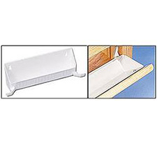 Rev A Shelf 6561-11-11-4 False Front Tip-Out Trays with Tab Stops (40 Bulk)