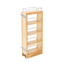 Rev-A-Shelf 448-WC-5C 5 Inch Wall Pull-Out Organizer