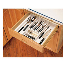 CUTLERY TRAY TEXT D 21 7/8 x 21 1/4