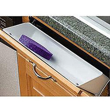 Rev A Shelf 6581-14-11-4 Sink Front Tip-Out Tray (Polymer) 14