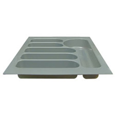 GREY DRWER INSERT 250x524x56