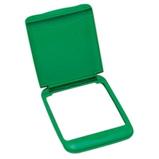 Rev-A-Shelf RV-35-LID-G-1 35 Quart Polymer Waste Container Lid - Green