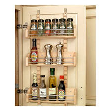 Rev A Shelf 4ASR-18 Adjustable Door Mount Spice Rack
