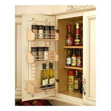 Rev A Shelf 4ASR-15 Adjustable Door Mount Spice Rack