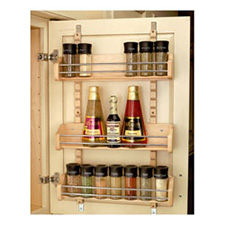 Rev A Shelf 4ASR-21 Adjustable Door Mount Spice Rack