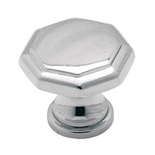 Amerock 973CH Allison Value Hardware Collection Octagon Knob - 1 3/16