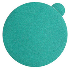 Wurth 8506343222961 Emerald Sanding Discs – Peel and Stick – 220 Grit – 6