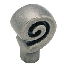 Amerock BP9339-WN Swirl'Z Collection Swirl Knob - 1 1/8
