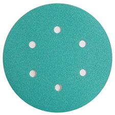 Wurth 8506333008961 Emerald Sanding Discs – Hook and Loop – 80 Grit – 6