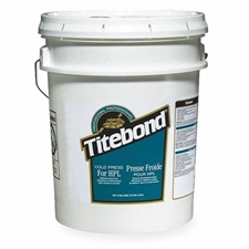 Titebond 4617 Cold Press Glue for High Pressure Laminates - 5 Gallons