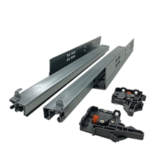 PRO Value Series DSPRO500B.250 / S10.250.H Soft-Close Full Extension Undermount Drawer Slides - 10