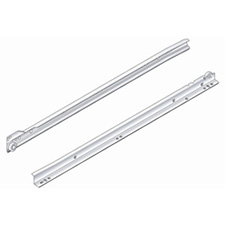 PRO Value Series PRO5020 Drawer Slide Bottom Mount Epoxy Slide - Cream/White - 20