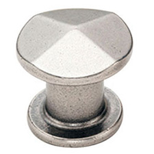 Amerock BP24003-AN Vasari Collection Round Knob - 30mm - Antique Nickel