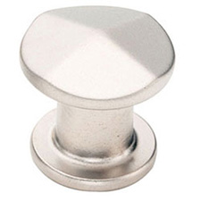 Amerock BP24003-SN Vasari Collection Round Knob - 30mm - Satin Nickel