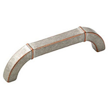 Amerock BP24004-WNC Vasari Collection Galleria Pull - 96mm - Weathered Nickel Copper
