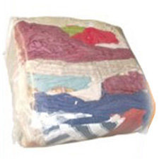 RCYCLD COLOUR RAGS *NOT 4 STAINING*