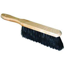 DUSTER/BANNISTER BRUSH,BLACK FIBRE