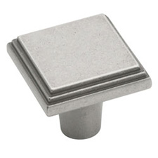 Amerock BP26117-WN Manor Collection Square Knob - 1