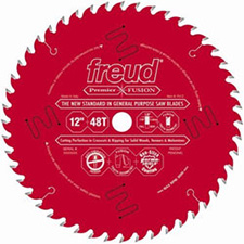 Freud P412 Premier Fusion 12-Inch 40 Tooth Hi-ATB General Purpose Saw Blade with 5/8-Inch Arbor and PermaShield Coating