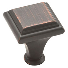 Amerock BP26131-ORB Manor Collection Square Knob - 1