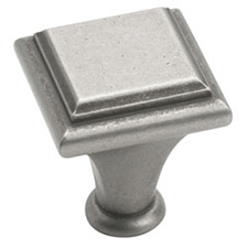 Amerock BP26131-WN Manor Collection Square Knob - 1