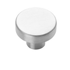 Amerock BP26200-SS Steel Collection Knob - 32mm - Stainless Steel