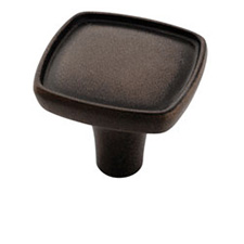 Amerock BP27006-ART Porter Square Knob - 1 1/8