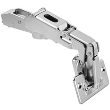 Blum 90A6600 CLIP Top Hinge - 170° Opening - Half Overlay - No Spring - Screw-on