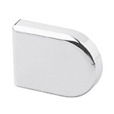 Blum 84.4120 Cover Cap D-Shape Chrome
