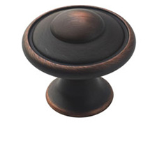 Amerock BP53002-ORB Allison Value Hardware Collection Knob - 1 3/16