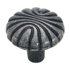 Amerock BP1337-WI Natural Elegance Collection Shell Knob - 1 7/32